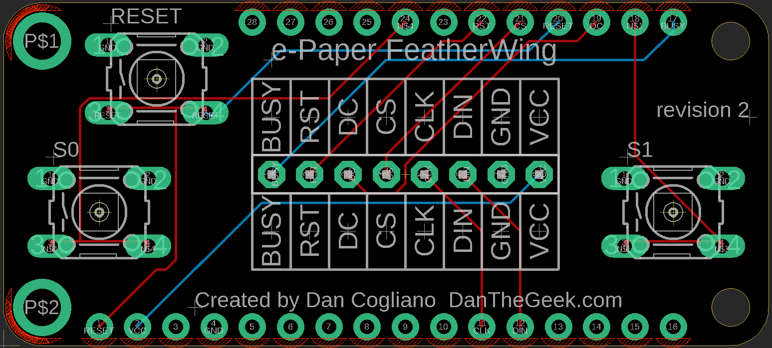 IoT Calendar: Creating A Custom Featherwing – Dan The Geek
